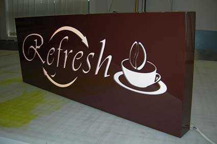 Вывеска кофе